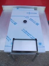 NO1 NEW FALCON FRYER G401/2F DUST COVER  / LID  595MM X 345MM X 25MM HIGH