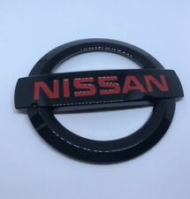 NISSAN VERSA REAR EMBLEM 2012-2017 NEW OEM BADGE