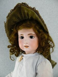 """26"""" French Early SFBJ Jumeau antique bisque head with composition body Doll"""
