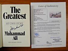 Muhammad Ali Boxing HOF Signed Book with Full JSA Letter