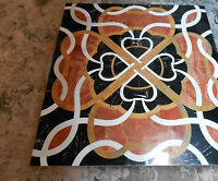 MARBLE DINING 2'x2' COFFEE CHILDREN CORNER CENTER  TABLE TOP MOSAIC INLAY WORK