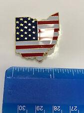 Ohio State Lapel Pin OH US Flag American USA Patriot Politics
