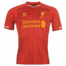 LIVERPOOL FC 2013/14 HOME (2XL, XL) S/S RED WARRIOR FOOTBALL SOCCER SHIRT JERSEY