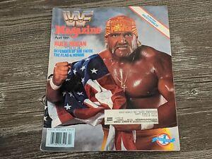 HULK HOGAN WWF MAGAZINE Wrestling April 1991 Issue Wrestlemania VII RARE