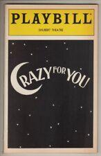 """Crazy For You""   Playbill  1995   James Brennan & Karen Ziemba,  Pia Zadora"