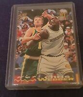 1993 Topps Stadium Club Chris Webber #224 1st Draft Rookie RC Ungraded