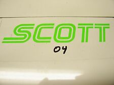 2 NOS Vintage Original Scott Goggles Grips Motocross MX Enduro Stickers Decal
