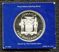 1974 Jamaica 10 Dollar Coin 'Sir Henry Morgan' (42.8 Grams .925 Silver)