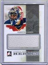 ROBERTO LUONGO 10/11 H&P Heroes & Prospects GAME-USED HERO JERSEY /30 SP
