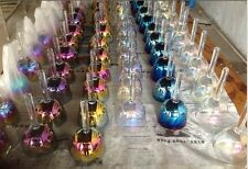 alchemy chakras set 8pcs crystal singing handle bowl 5th octave C D E F G A B C6
