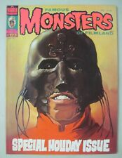 FAMOUS MONSTERS OF FILMLAND #123 MAGAZINE 1976 KEN KELLY COVER