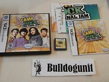 Camp Rock The Final Jam Nintendo DS Game Complete Case Manual