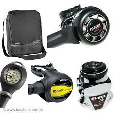 Mares Abyss 22 Classic + Octopus Prestige + Mares Finimeter Mission 1 + Tasche