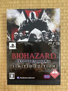 Biohazard Operation Raccoon City Limited Edition PlayStation 3 Japan Exclusive