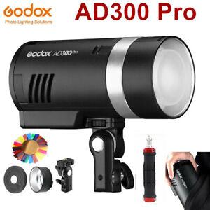 Godox AD300pro 2.4G TTL HSS Wireless Outdoor Flash Light Speedlite AD300 Pro