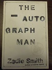 Zadie Smith, AUTOGRAPH MAN *SIGNED* 2002 HBDJ 1ST/1ST Brand New