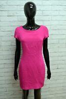 Vestito in SETA Donna GY PARIS Taglia S Abito Dress Tubino Woman Rosa Sartoriale