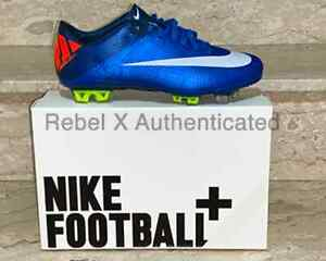 NEW 100% AUTHENTIC NIKE VAPOR SUPERFLY III FG SIZE 7 SOCCER CLEATS  441972 408