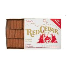 Paine Products Red Cedar Incense Box Of 32 Pieces