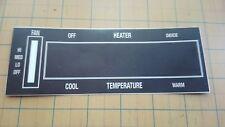 like NOS 1970 71 72 Buick  Heat Control faceplate Skylark GS 350 GS455  A body