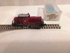 Rivarossi echelle N  Atlas 2194 locomotive Diesel de manoeuvre 261 DB