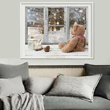 5D DIY Diamond Painting Bear Window Embroidery Cross Crafts Stitch Home Decor 5H