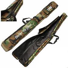 120cm Camouflage Carp Fishing Rod Tackle Bag Case Padded Holder Luggage Holdall