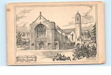 *Franciscan Monastery Olton New Church West Front Uk Vintage Postcard C25
