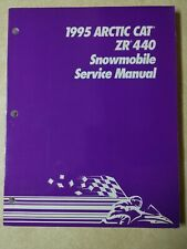 New Listing1995 Arctic Cat Snowmobile Service Manual For Zr 440