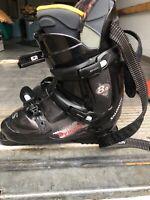 SALOMON SYMBIO 8.0 Ski Boots Size 28.0 Or 10 US Mens