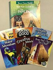 The Real Deal Second Chance Reading Teacher Guide Green Plus series and 6 books