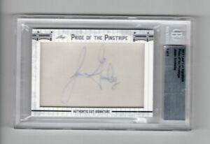 2013 Leaf Cut Signature Pride Of The Pinstripe Jason Grimsley Auto #1/5