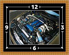 Reloj De Pared Skyline Motor Regalo Presente Navidad Cumpleaños (personalizable)
