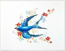 Hallmark 2018 KOC Club Exclusive Barn Swallow Print BEAUTY OF THE BIRDS