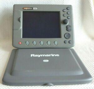 RAYMARINE C80 E02020 GPS FISHFINDER RADAR MFD CHARTPLOTTER UNIT w/ SUN COVER