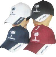 South Carolina SC State Myrtle Beach Crimson Red Embroidered Cap CAP721B Hat