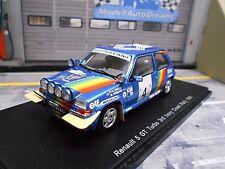 RENAULT 5 GT Turbo Ivory Coast Bandama Rallye 1990 #4 Oreille Diac Spark 1:43