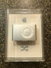 Apple iPod shuffle 2nd Generation Clip On A1204 SILVER (1 GB) New Factory Sealed