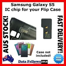 Samsung Galaxy S5 flip case IC chip for your fake or aftermarket S VIEW cover