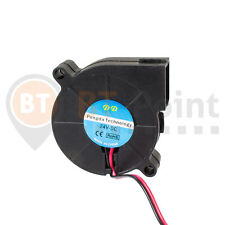 Radial Lüfter 50x15mm 24V 0.15A Fan Cooler 3D Drucker Radial Lüfter 50mm 57mm