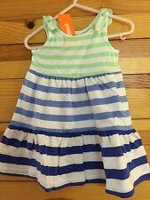 *NWT GYMBOREE* Girls MIX 'N' MATCH Soft Blue Stripe Maxi Dress Size 6-12 Months