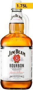 Jim Beam White Label 1.75L 1750mL Bottle
