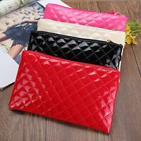 Womens Ladies Zip PU Leather Handbag Wallet Phone Key Holder Coin Purse Case Bag