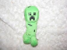 Minecraft Stuffed Plush Green Creeper Guy & Bonus Square Frog Toad Toy Lot