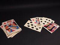 Antique Vintage Style Colonial Deck of Playing Cards