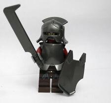 Uruk-Hai Helmet Armor 9474 9471 30211 Lord Rings Hobbit LEGO Minifigure Figure
