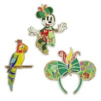 Disney Minnie Mouse Main Attraction May Enchanted Tiki Room Pin Set 5/12 1 of 2