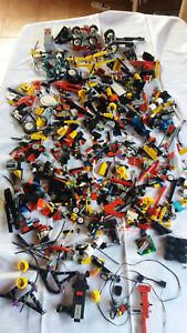 LegoTechnic Konvolut Ersatzteile und 7 verschiedene Bauanleitungen 2x Fusion