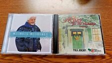 LOT OF 2 CHRISTMAS ALBUMS BETTER HOMES MICHAEL MCDONALD  CD GREAT CONDITION