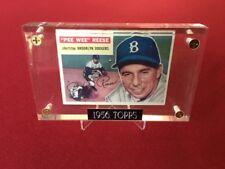 """1956, Pee Wee Reese, """"Topps""""  Baseball Card (Brooklyn Dodgers)"""